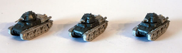 Flames of War French Hotchkiss H-39