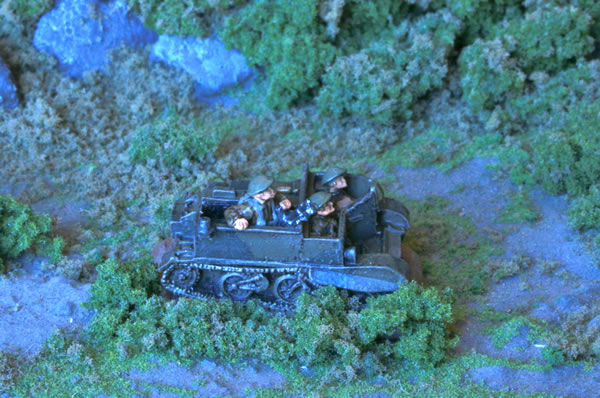 Flames of War Scout Carrier