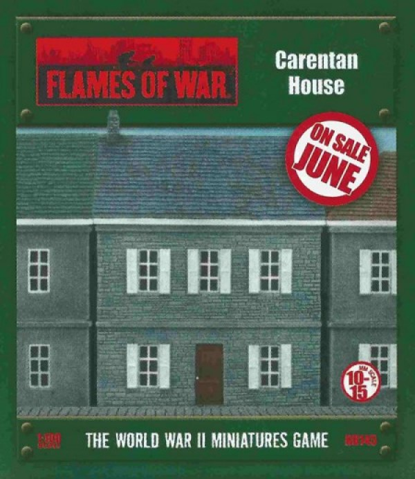 Normandy Houses from Battlefront for Flames of War