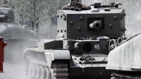 Cromwell tank in Band of Brothers
