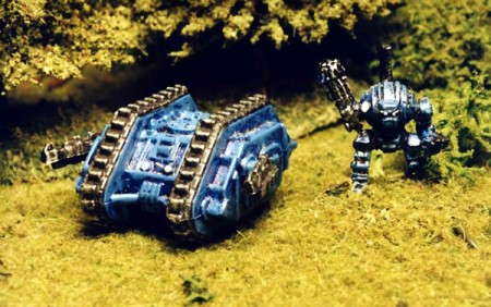 Epic Land Raider and Dreadnought