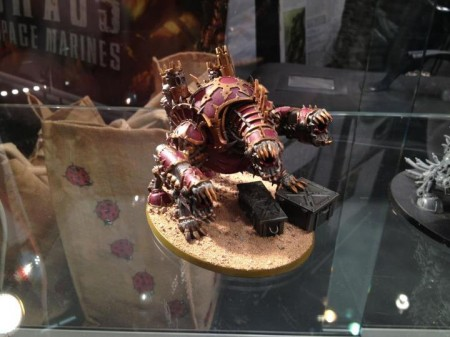 Chaos Space Marine Forgefiend - Games Day 2012