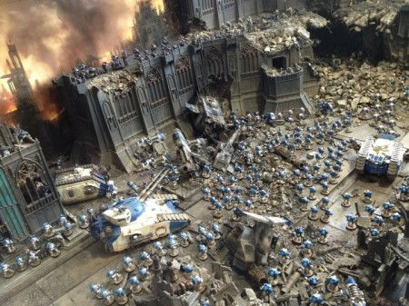 Forge World Games Day 2012 Diorama