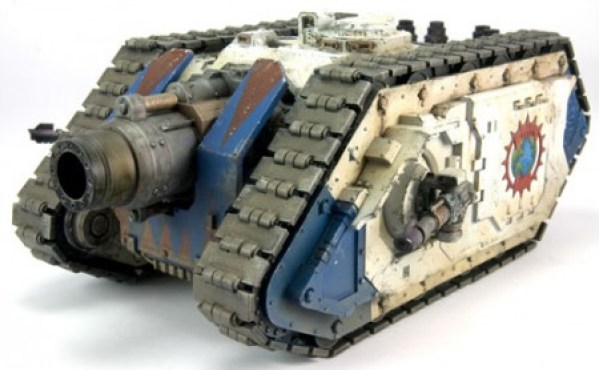 Space Marine Typhon Heavy Siege Tank