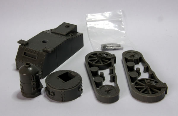 Ironclad Miniatures Steam Tank