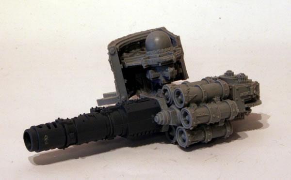 Mega-Dread main weaponry