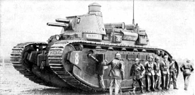 Char 2C French tank