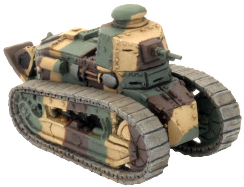 Flames of War Renault FT-17