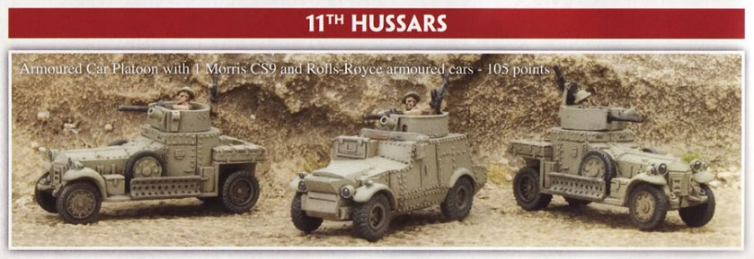 Flames of War Rolls Royce Armoured Cars