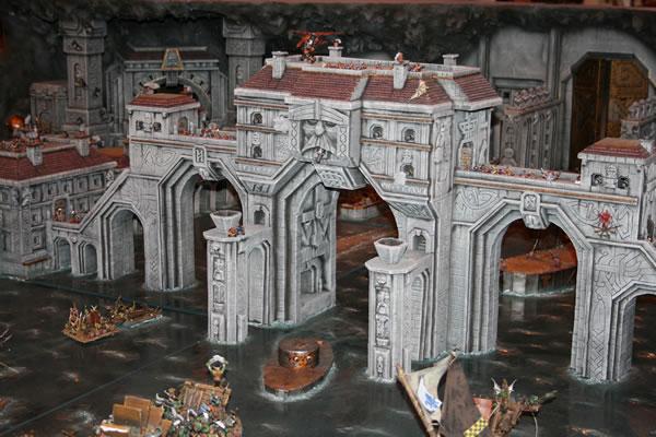 Dwarf City under attack