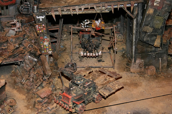 Ork Garage