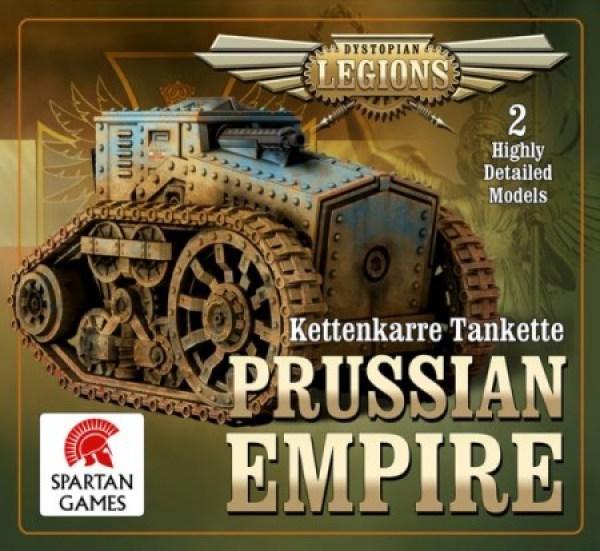 Dystopian Legions - Prussian Empire: Kettenkarre Tankette