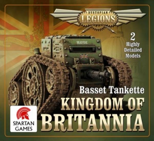 Dystopian Legions - Kingdom of Britannia: Basset Tankette