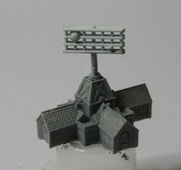 Dystopian Wars Airfield Set Radar Tower
