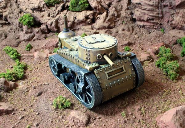 Old West Steam Tank
