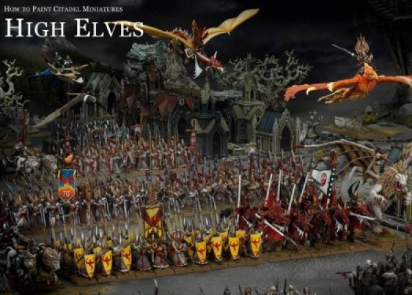 Painting High Elves