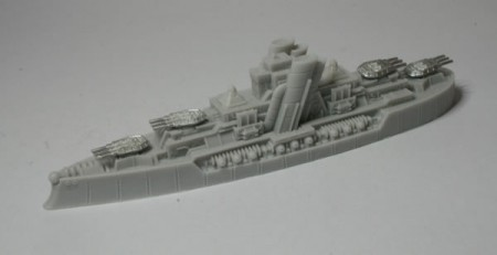 Prussian Empire Blucher Class Dreadnought