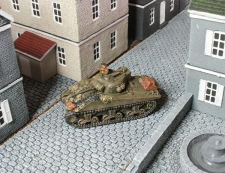 Flames of War Sherman Tanks