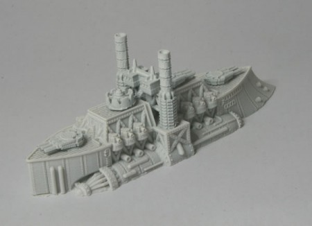 King John – Ruler Class Battleship