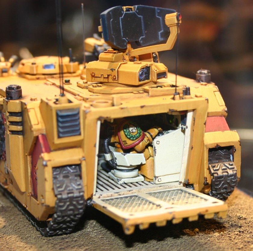 Imperial Fists Damocles Command Rhino