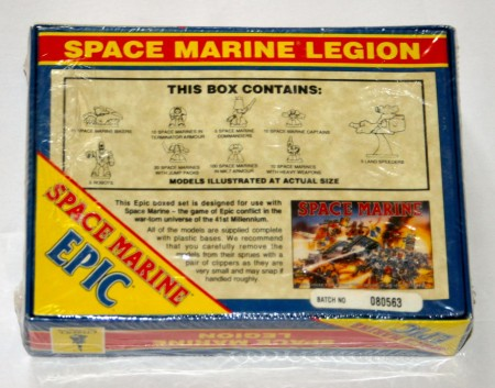 New Sealed OOP Space Marine Epic 40000 Space Marine Legion