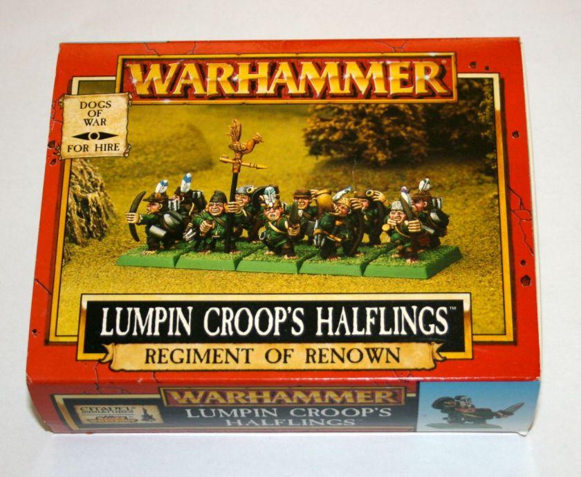 Lumpin Croop's Haflings Warhammer Fantasy Regiment of Renown