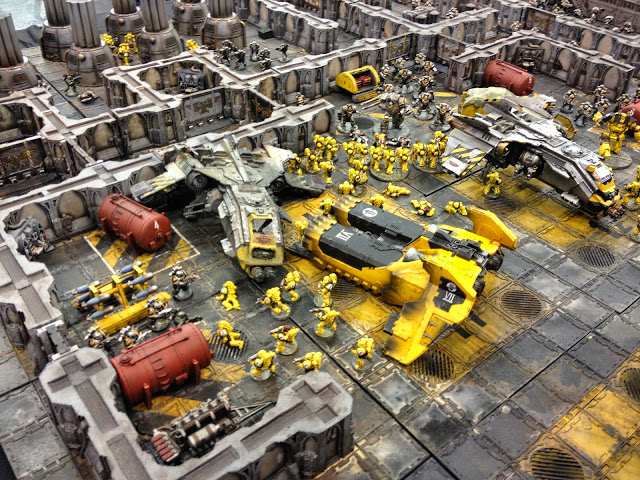 Battle of Phall - Forge World