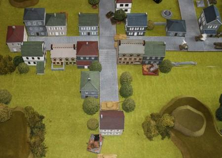 15mm Normandy Village