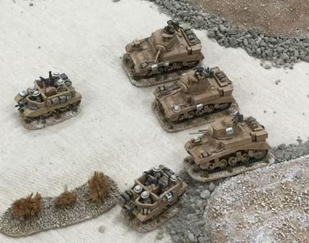 20mm M3 Stuart Tanks