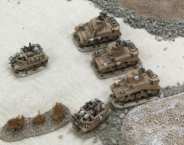 20mm M3 Stuart Tanks