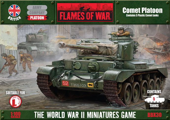 Flames of War Comet