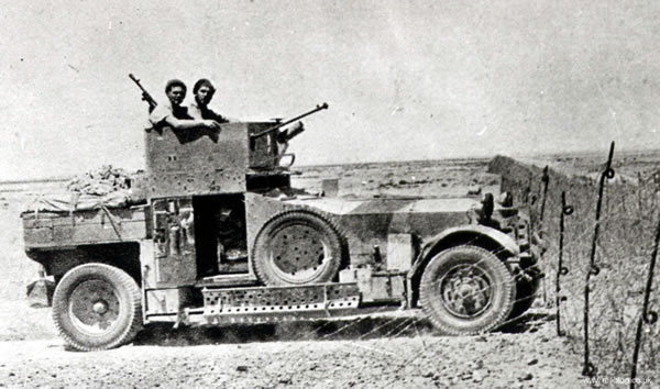 Tally Ho Rolls Royce Armoured Car