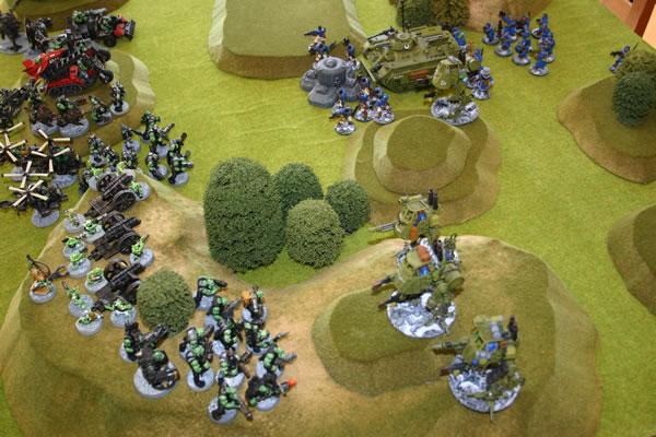 Game of Warhammer 40K