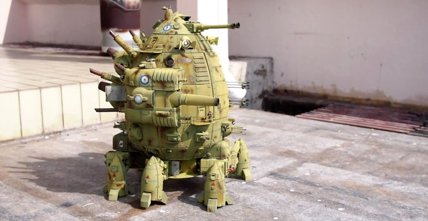3D Moving Robot looking very much like an Ork Gargant