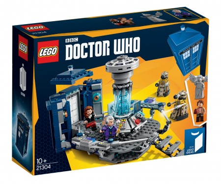 The LEGO Ideas Doctor Who set will be available starting December! #lego #doctorwho