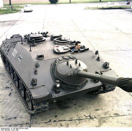 Reportage Bundeswehr Kanonenjagdpanzer, Munsterlager, KTrS III [Munsterlager, Truppenübungsplatz in der Lüneburger Heide]