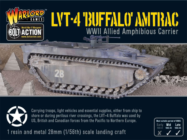 Bolt Action Commando LVT-4 Buffalo Amtrac