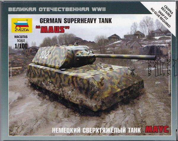 Zvezda Panzer VIII Maus