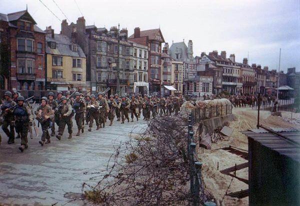 Weymouth in 1944