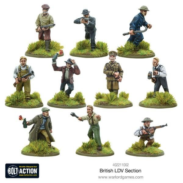 British LDV Section from Warlord Games