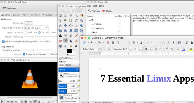 7 essential linux apps ifelsetech