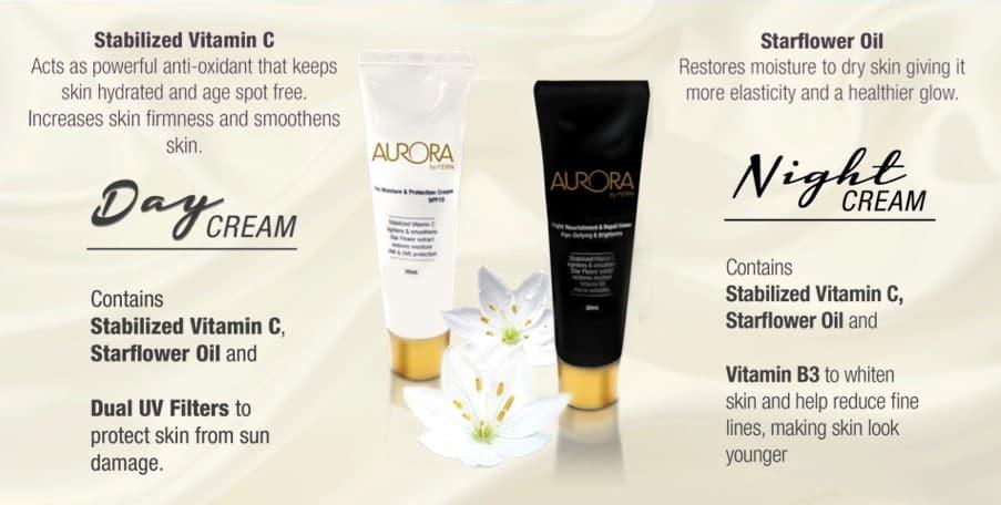 Aurora Night and Day Cream Anti-Aging