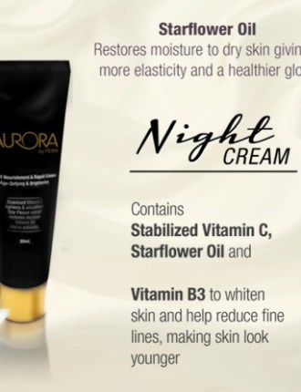 Aurora Revitalize anti-Aging eye-cream