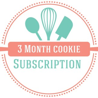 3month cookie baking subscription logo