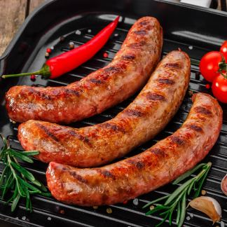 Arthur Pipkins Premium Pork, Hickory and Chipotle BBQ Sausage Mix