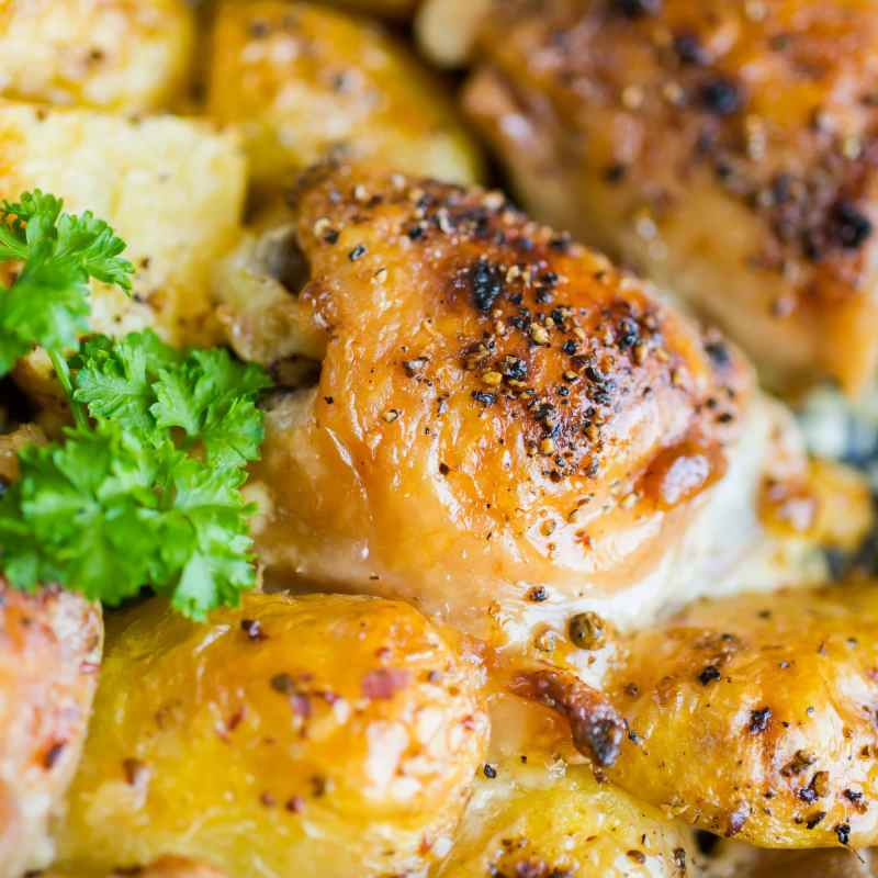 The Alfresco Butcher Gluten Free Garlic Butter Meat Glaze