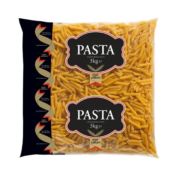 Dried Penne Pasta Quills