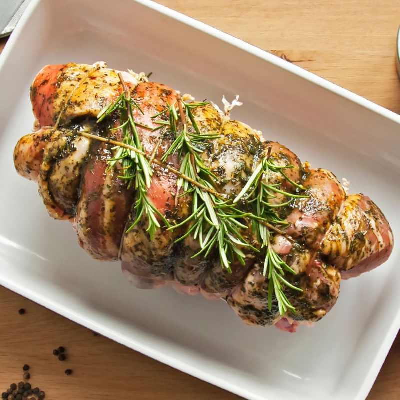 AVO Lafiness Wild Garlic Butchers' Marinade on Lamb