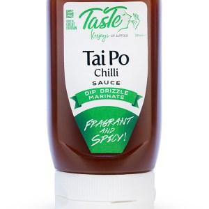 Taste Keejays of Suffolk Tai Po Chilli Condiment Sauce