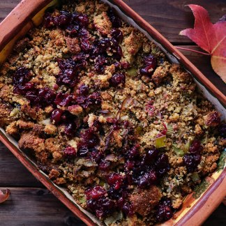 The Alfresco Butcher Cranberry and Apple Stuffing Mix